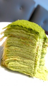 Lady M Green Tea Crepe