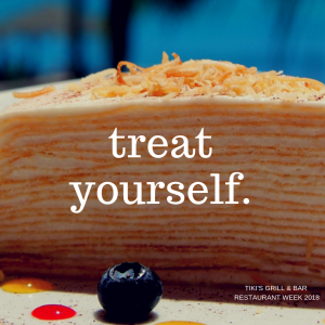 Haupia Crepe Cake for Restaurant Week Hawaii 2018